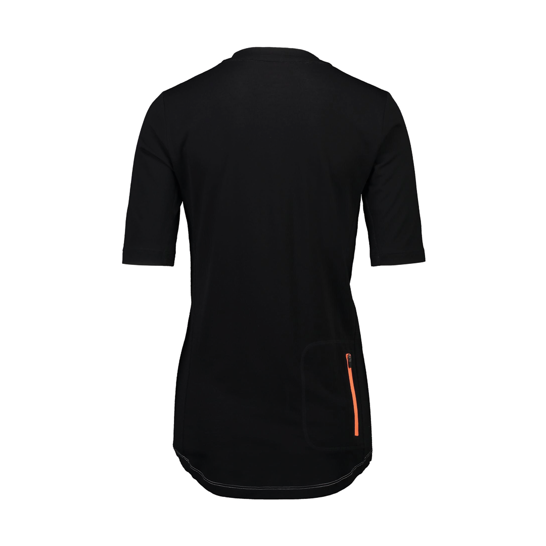 Jersey Mons Royale Womens Phoenix Enduro VT Black/Grey Marl-2