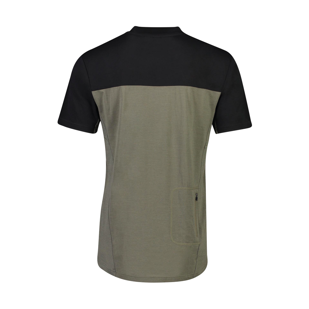 Jersey Mons Royale Mens Redwood Enduro VT Olive/Black-2