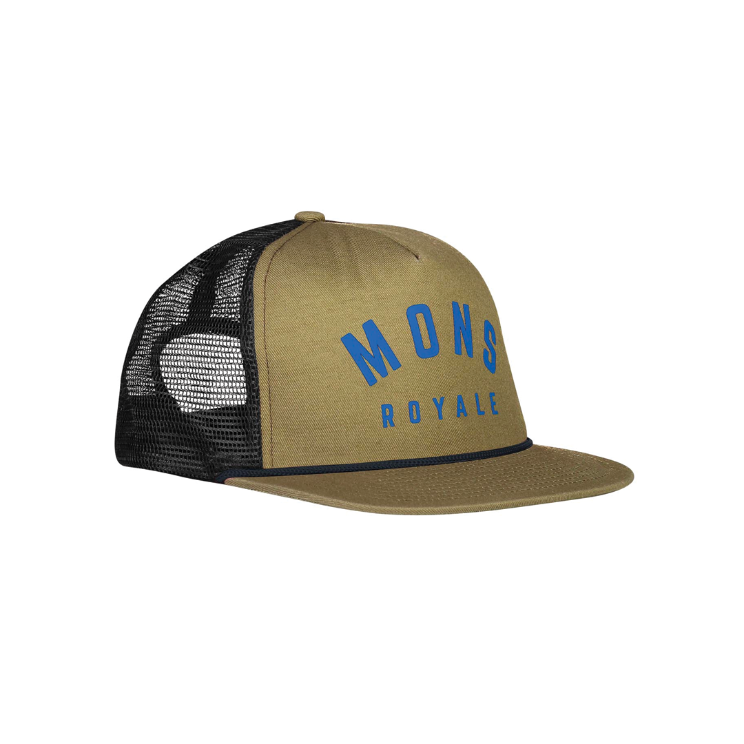 Cap Mons Royale Unisex The ACL Trucker Cap Olive OS-1