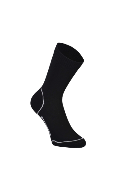 Bas Mons Royale Womens Tech Bike Sock 2.0 Black/Grey