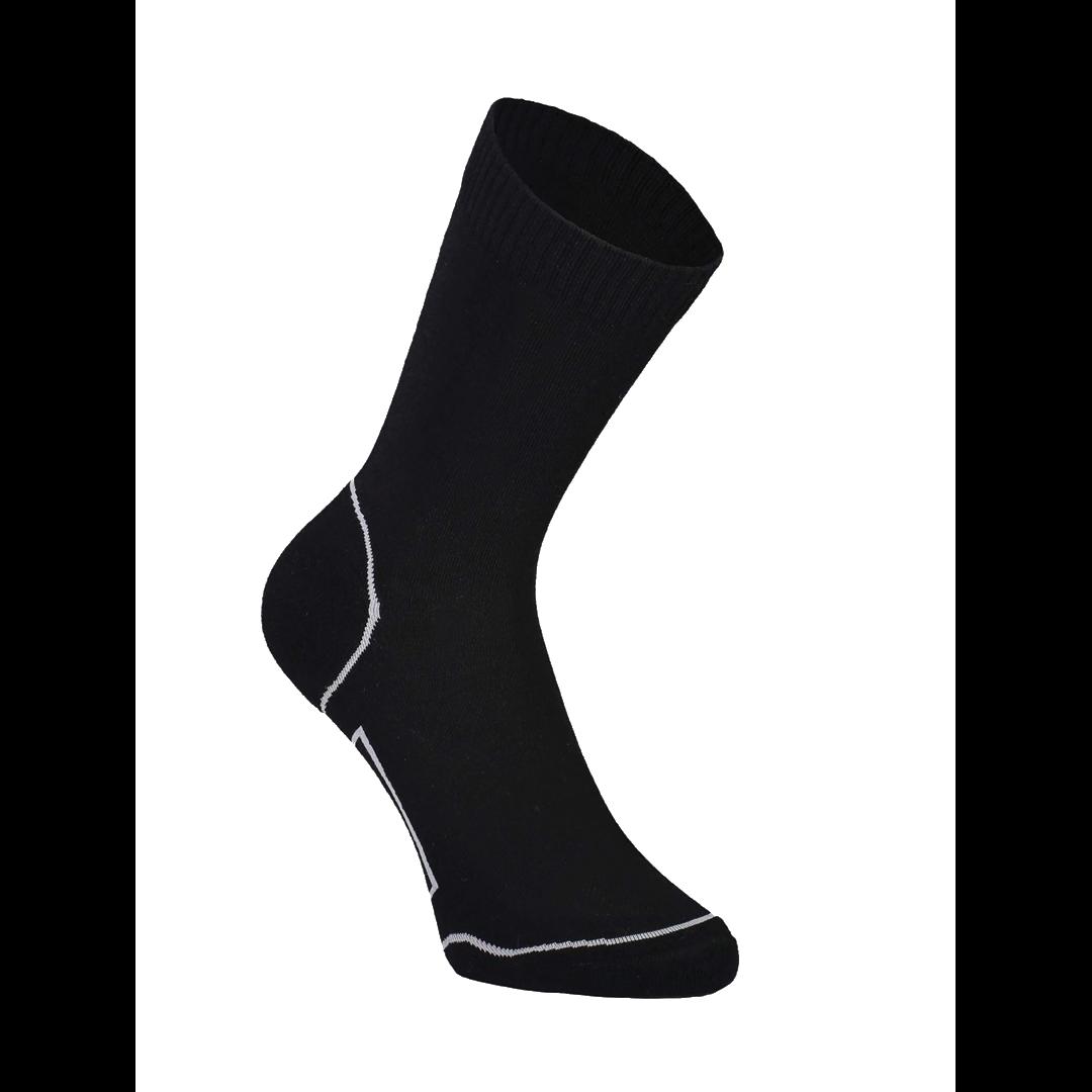 Bas Mons Royale Womens Tech Bike Sock 2.0 Black/Grey-1
