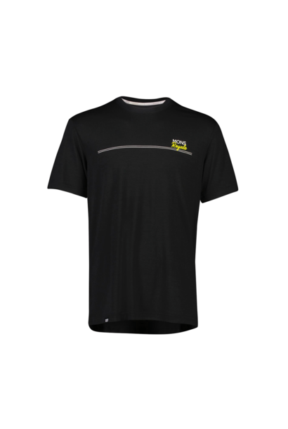 Jersey Mons Royale Mens Tarn Freeride Tee Black
