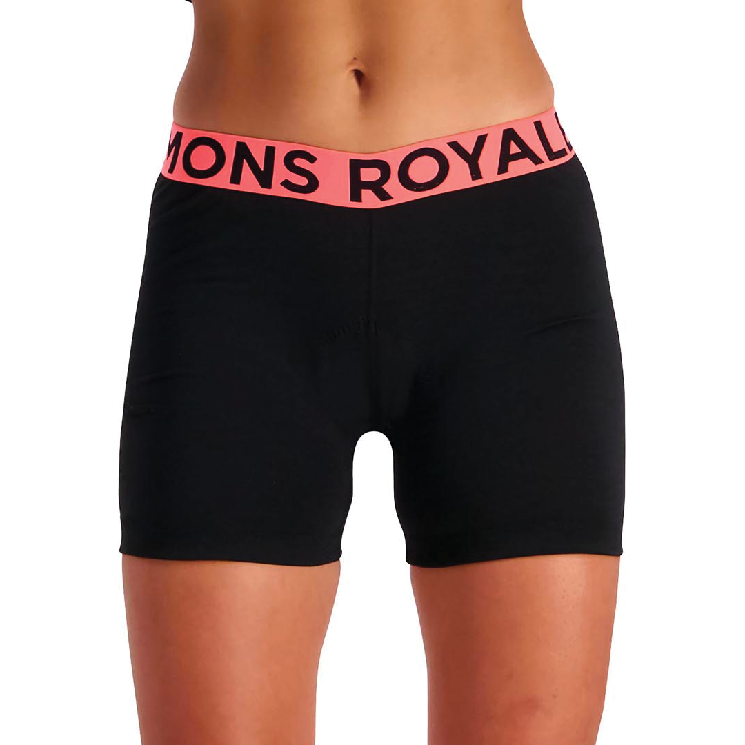 Chamois Mons Royale Womens Royale Chamois Short Black-3