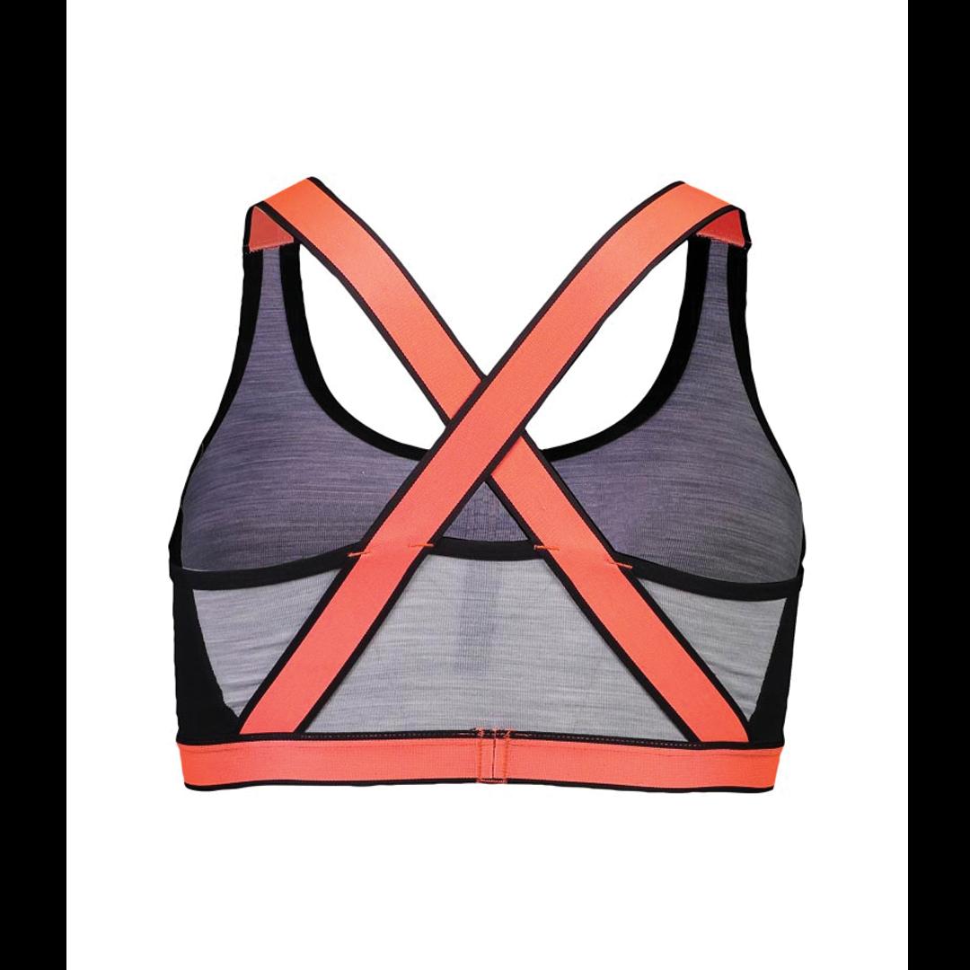 Brassière Mons Royale Womens Stella X-Back Bra Black / Grey Marl-2