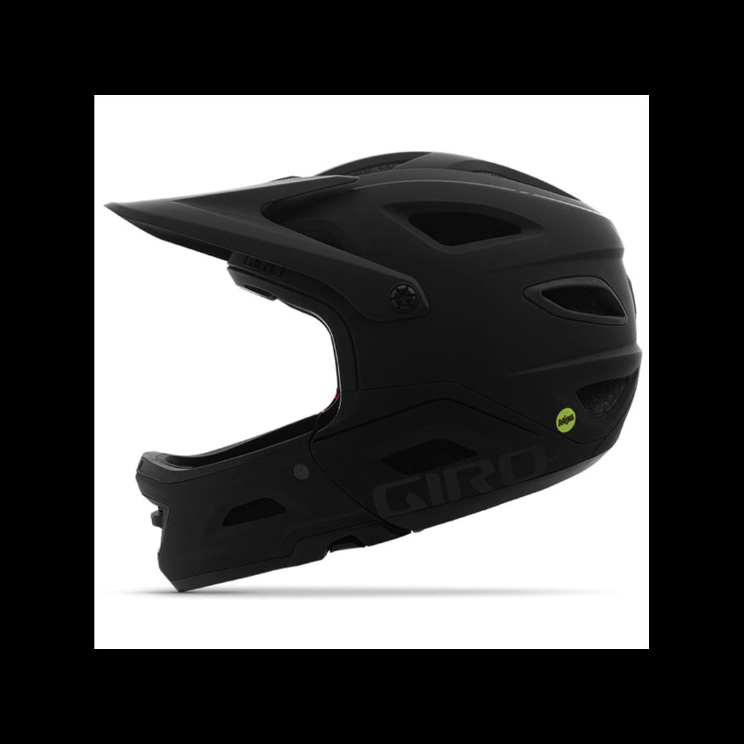 Helmet Giro Switchblade Mips Mat/Gloss Black-3