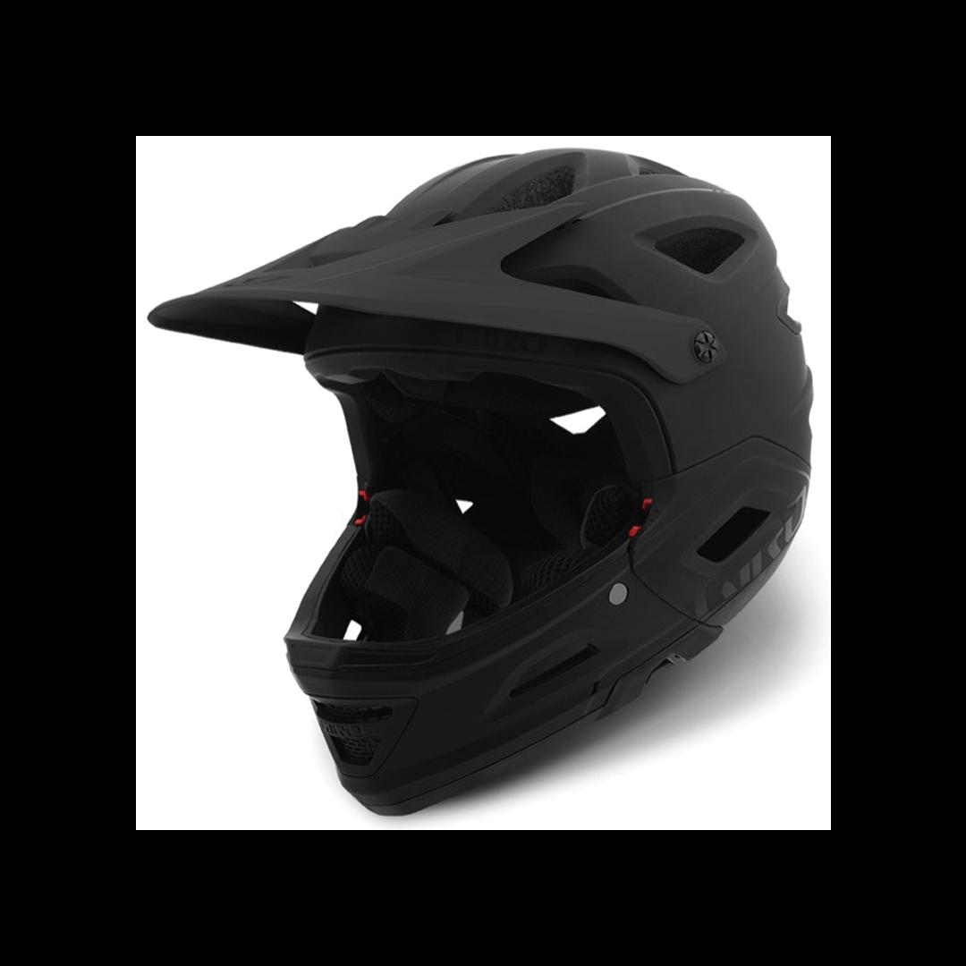 Helmet Giro Switchblade Mips Mat/Gloss Black-1