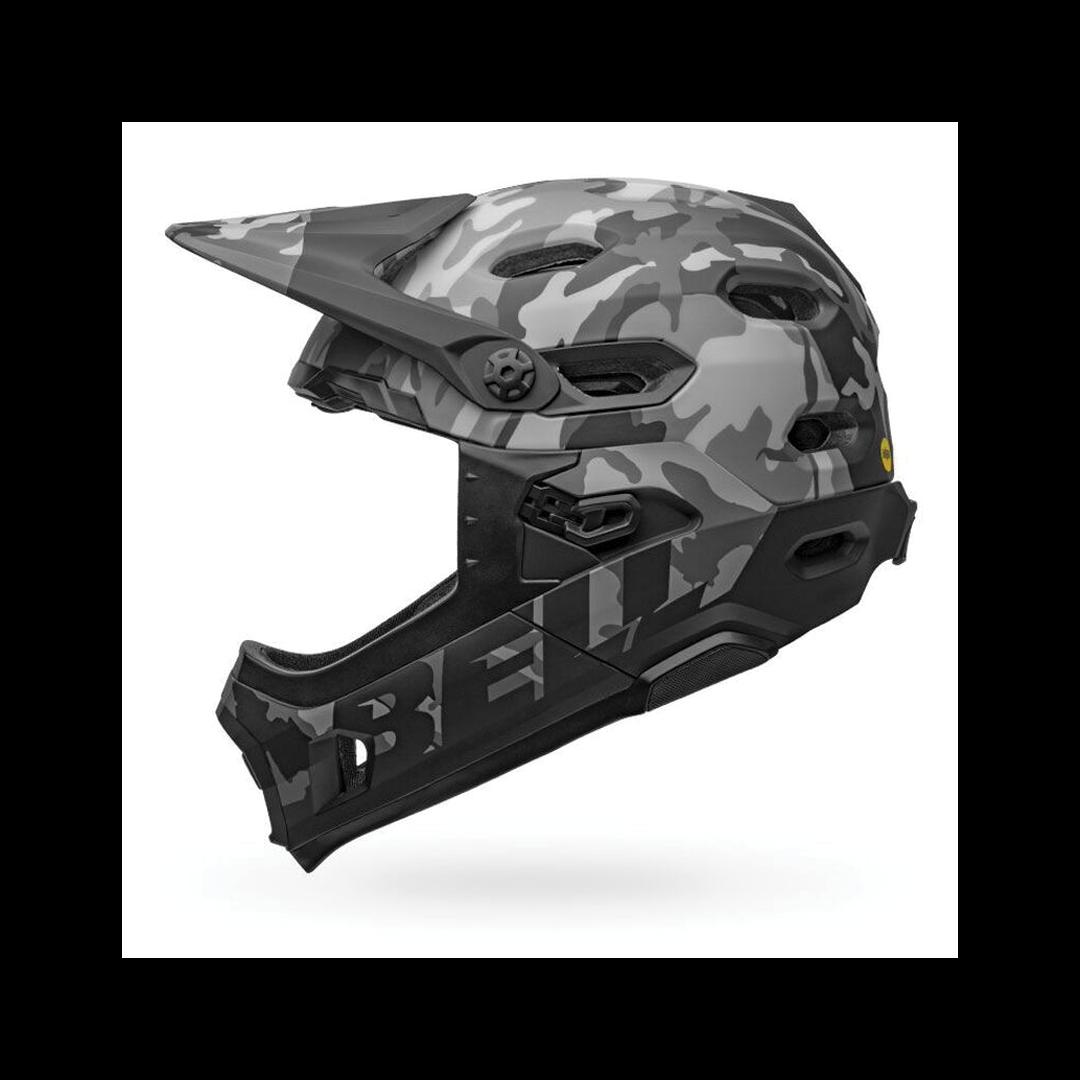 Helmet Bell Super DH Mips Noir Camo-3