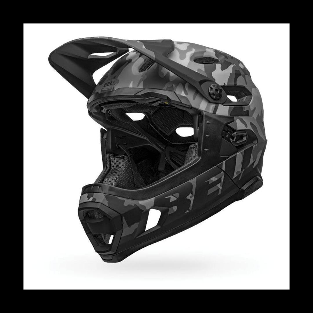 Helmet Bell Super DH Mips Noir Camo-1