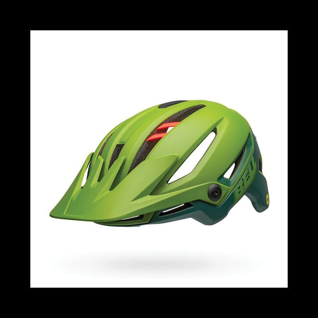 Helmet Bell Sixer Mips Vert/Rouge-2