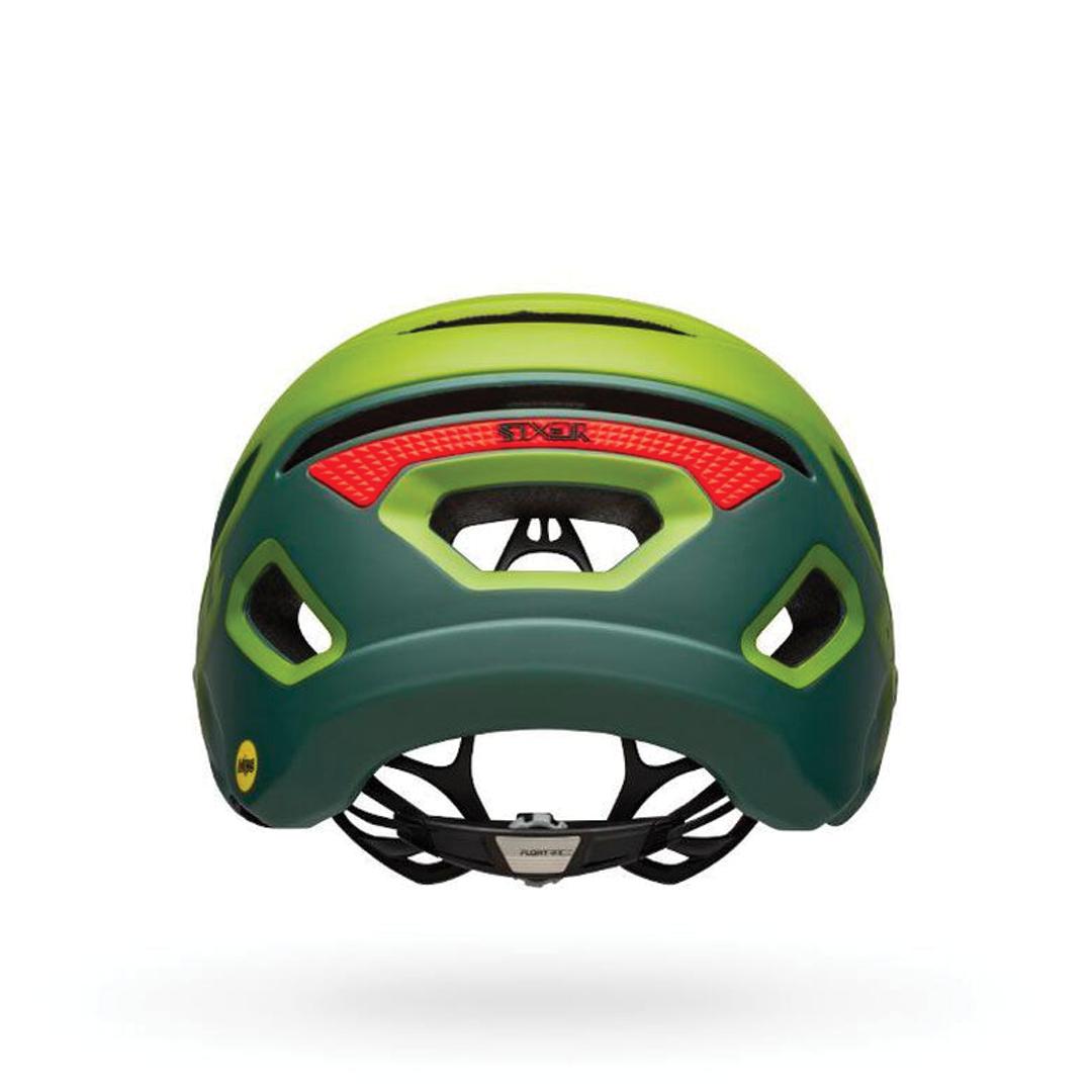 Helmet Bell Sixer Mips Vert/Rouge-3