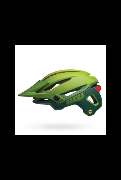 Helmet Bell Sixer Mips Vert/Rouge