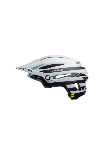 Helmet Bell Sixer Mips Blanc/Noir Mat Fasthouse - Medium