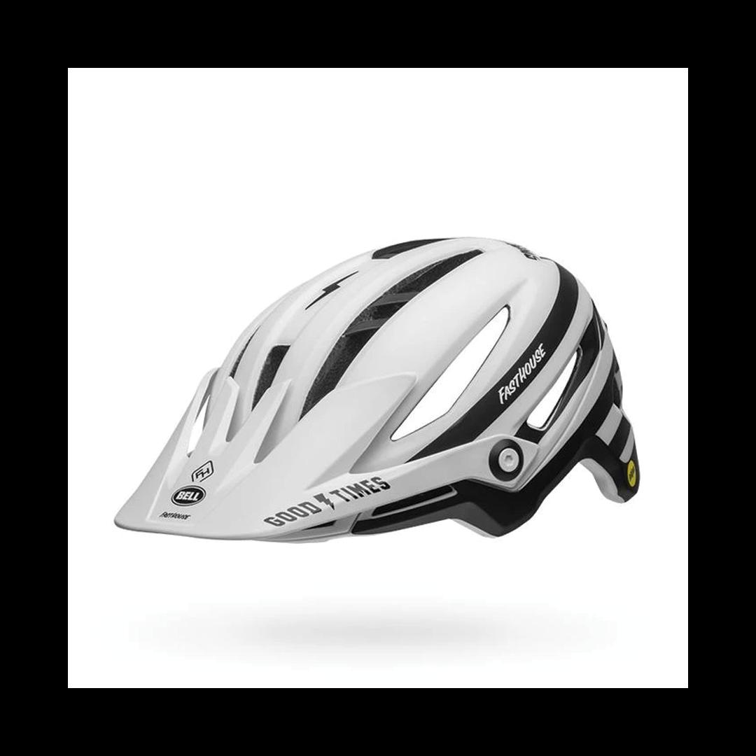 Helmet Bell Sixer Mips Blanc/Noir Mat Fasthouse - Medium-2