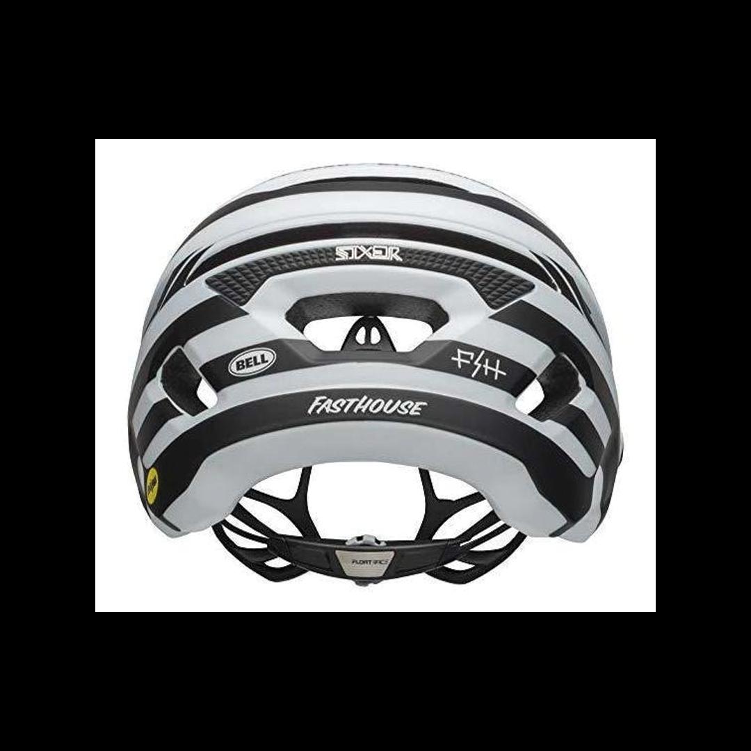 Helmet Bell Sixer Mips Blanc/Noir Mat Fasthouse - Medium-3