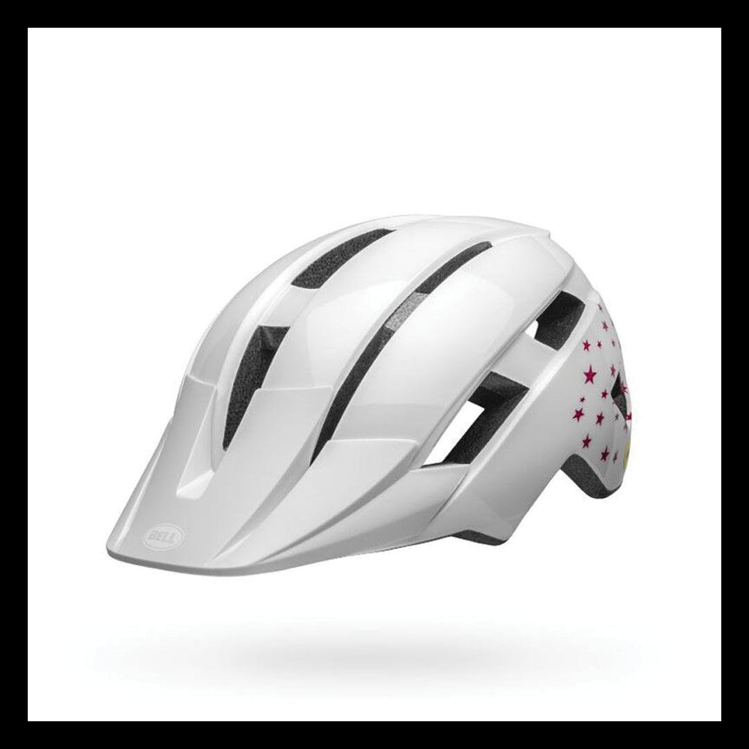 Helmet Bell Junior Sidetrack II Blanc Stars-2
