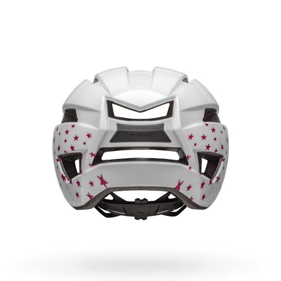 Helmet Bell Junior Sidetrack II Blanc Stars-3