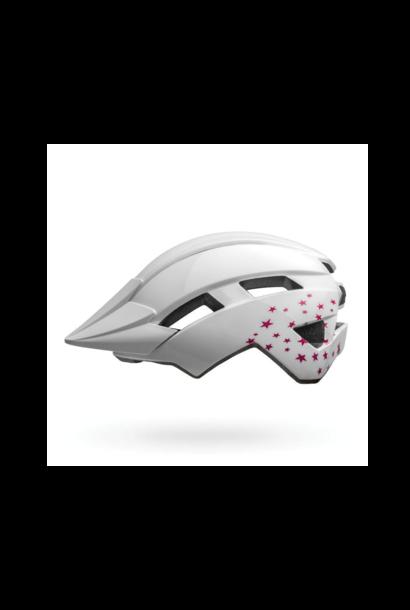 Helmet Bell Junior Sidetrack II Blanc Stars