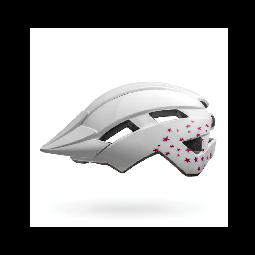 Helmet Bell Junior Sidetrack II Blanc Stars-1