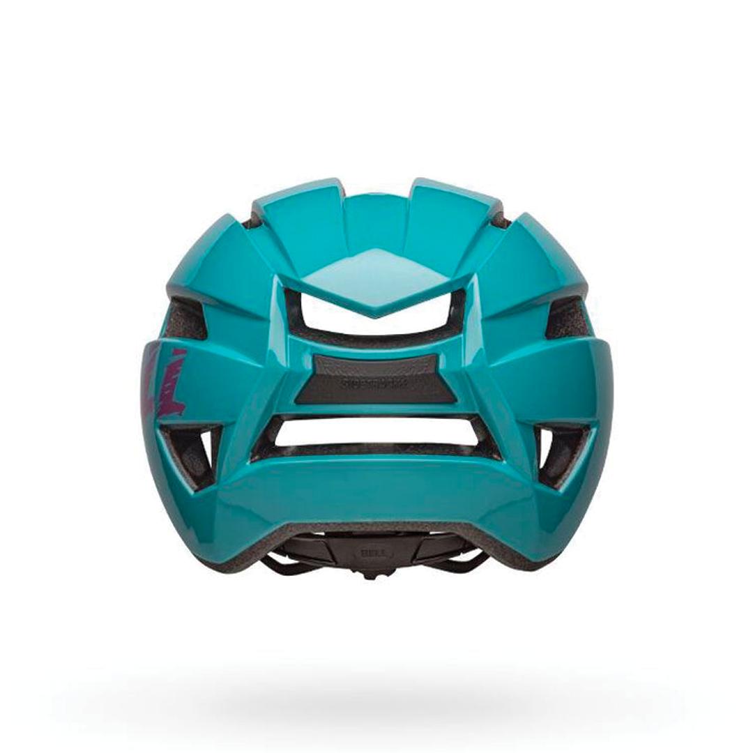 Helmet Bell Junior Sidetrack II Bleu/Rose-3