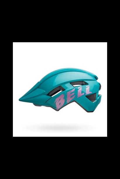 Helmet Bell Junior Sidetrack II Bleu/Rose