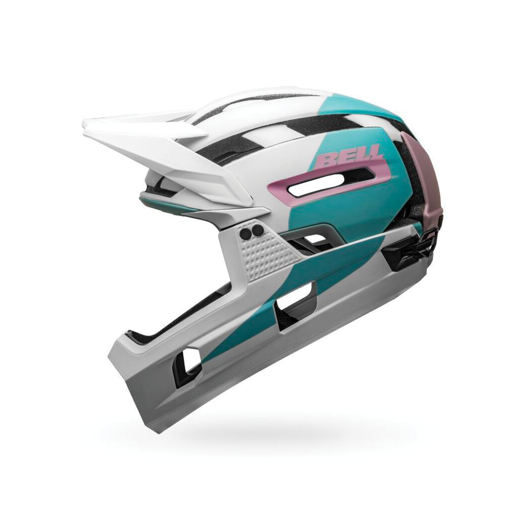 Helmet Bell Super Air R Mips Blanc/Mauve-3