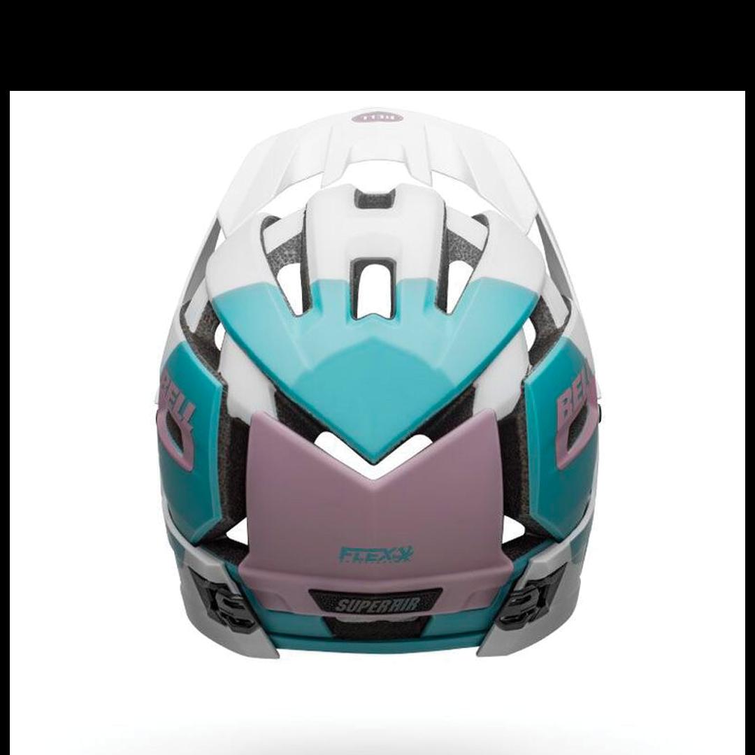 Helmet Bell Super Air R Mips Blanc/Mauve-4