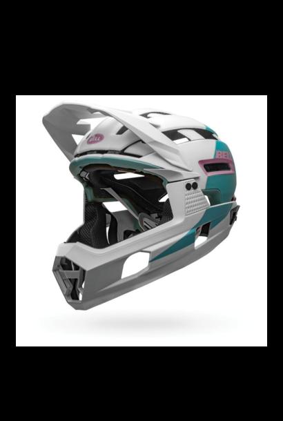 Helmet Bell Super Air R Mips Blanc/Mauve