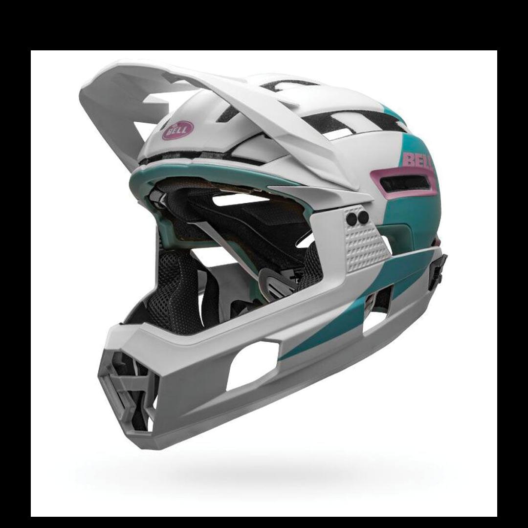 Helmet Bell Super Air R Mips Blanc/Mauve-1