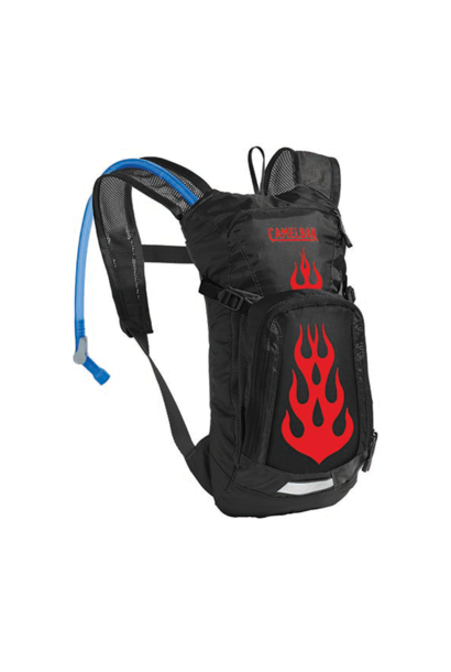 Hydration Pack Camelbak Mini M.U.L.E. 50 oz Black/Flames