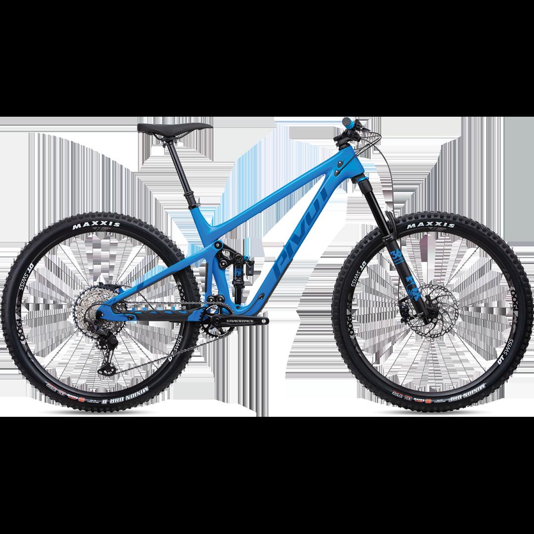 "Vélo Pivot Switchblade Carbone Race XT Bleu 29""-1"