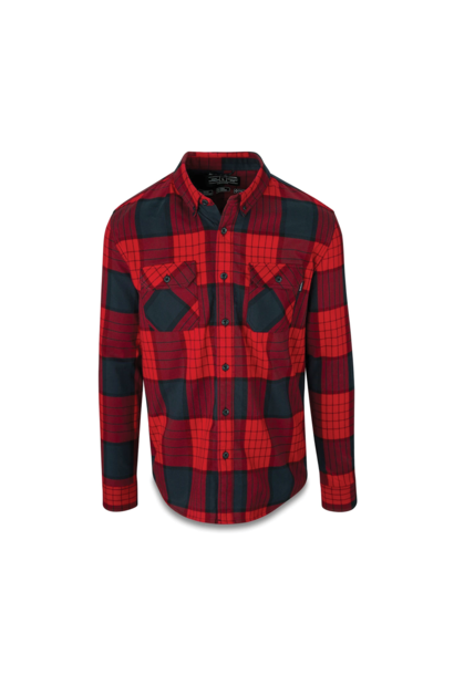 Shirt Dakine Reid Tech Flannel Crimson Red