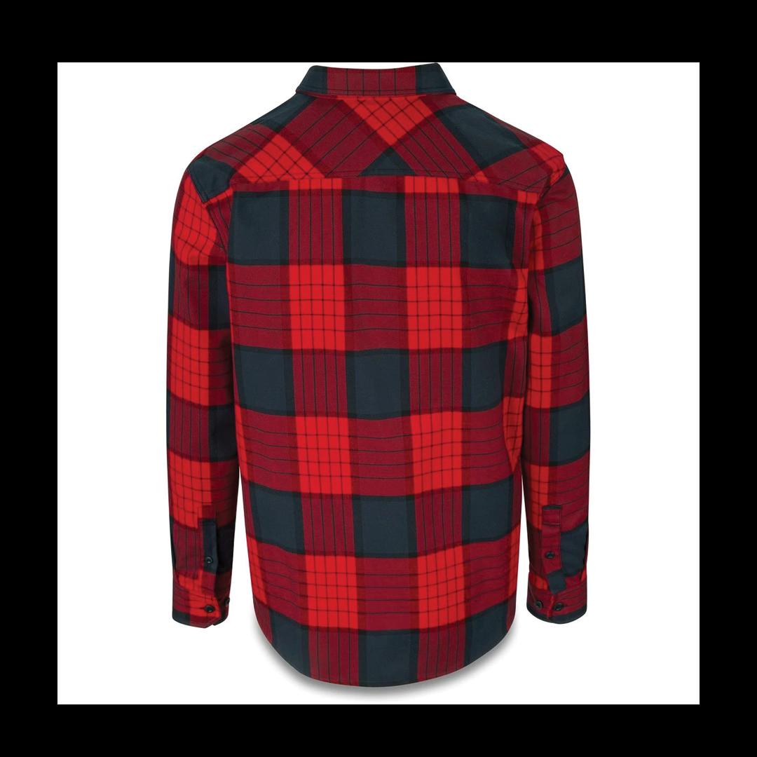 Shirt Dakine Reid Tech Flannel Crimson Red-2