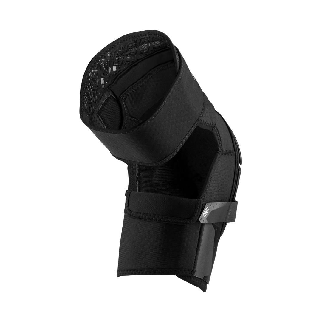 Knee Guards 100% Fortis Black-2