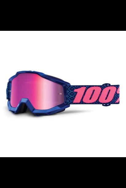 Goggle 100% Accuri Futura Mirror Pink Lens
