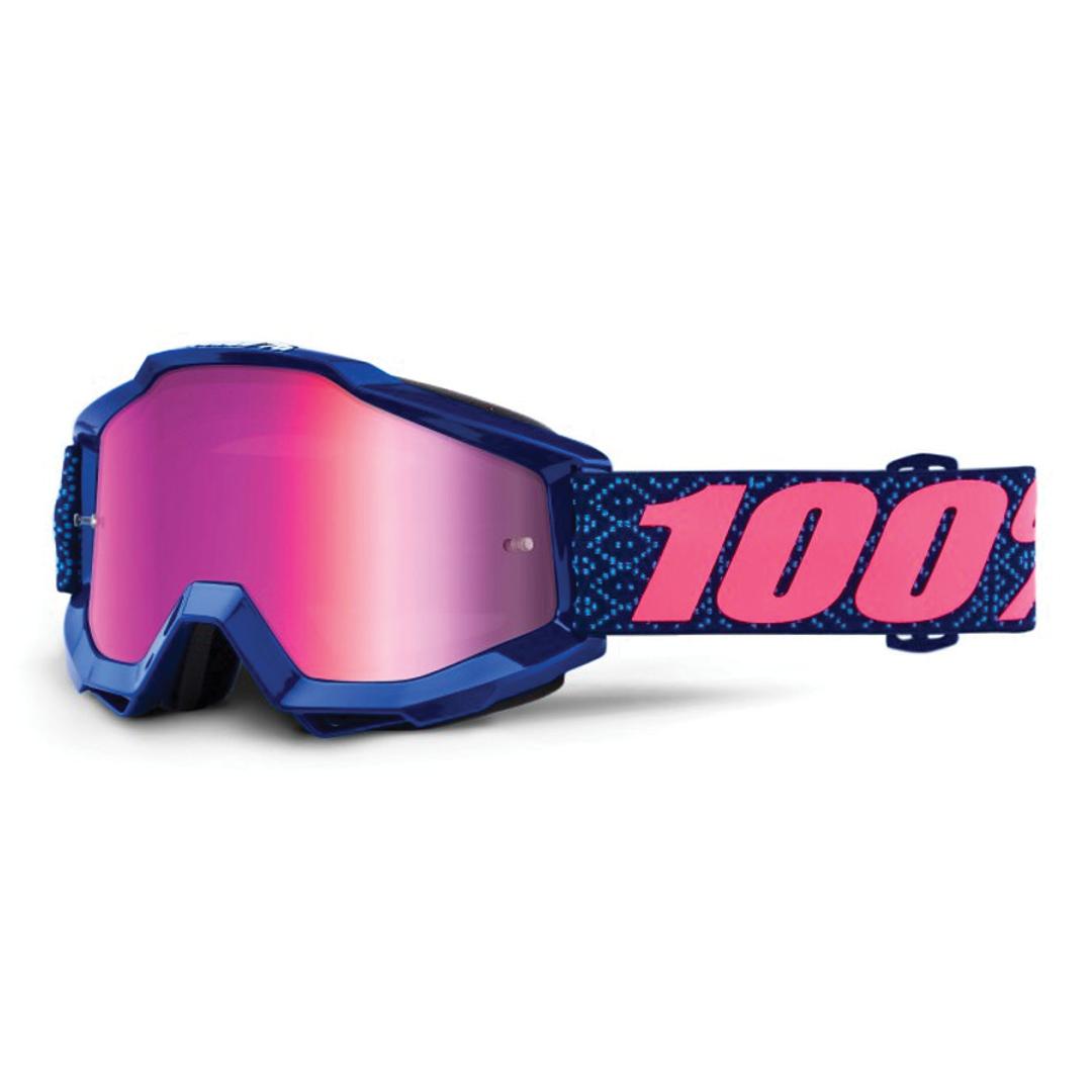 Goggle 100% Accuri Futura Mirror Pink Lens-1