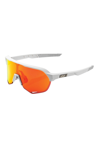 Sunglasses S2® Soft Tact Off White HiPER® Red Multilayer Mirror Lens + Clear Lens Included