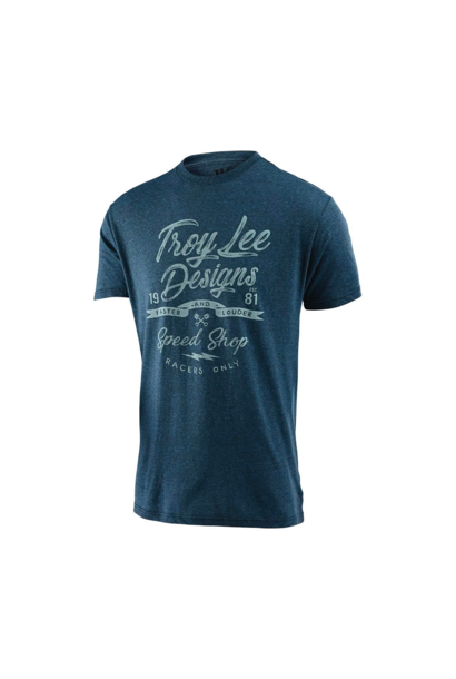 T-Shirt Troy Lee Widow Maker Indigo Black Heather
