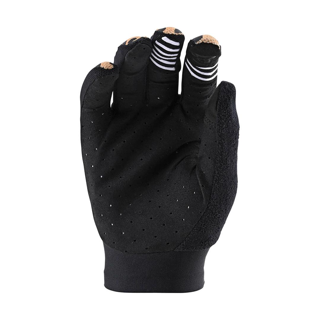 Gloves Troy Lee Femme Ace 2.0 Cheetah Gold-2