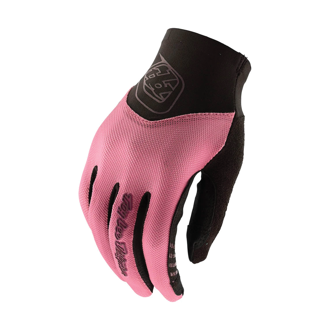 Gloves Troy Lee Femme Ace 2.0 Smoked Petal-1