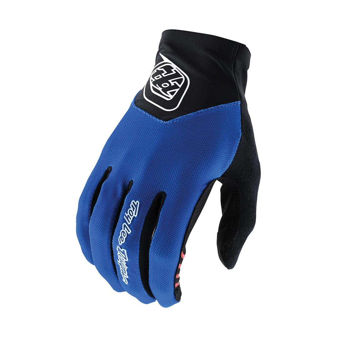 Gloves Troy Lee Ace 2.0 Royal Blue-1