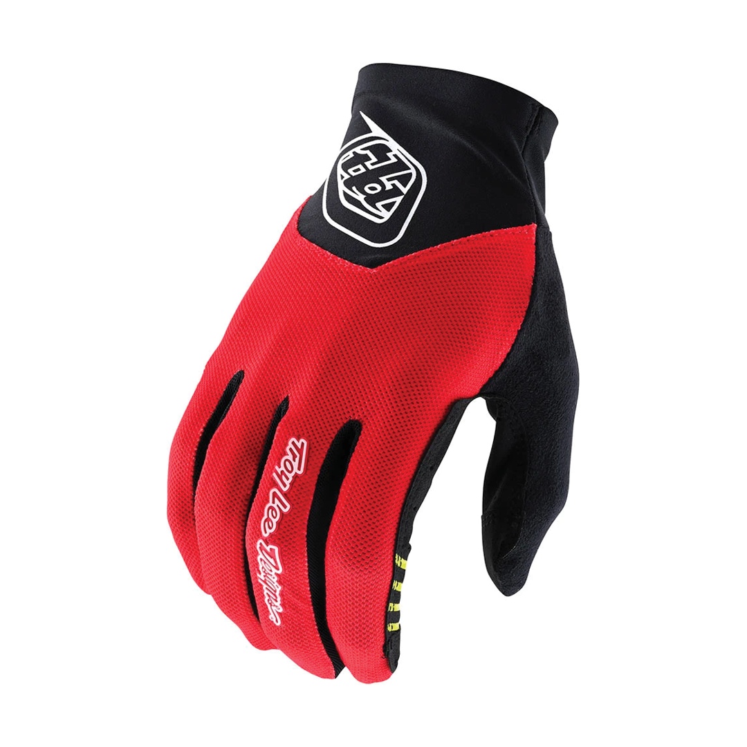 Gloves Troy Lee Ace 2.0 Red-1