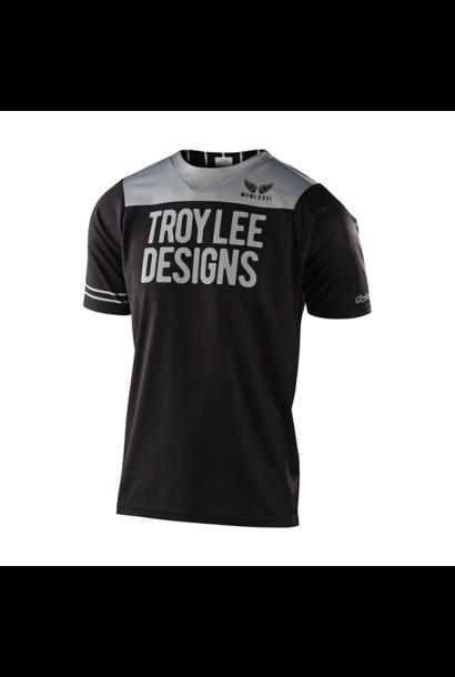 Jersey Troy Lee Junior Skyline SS Pinstripe Block Black/Gray