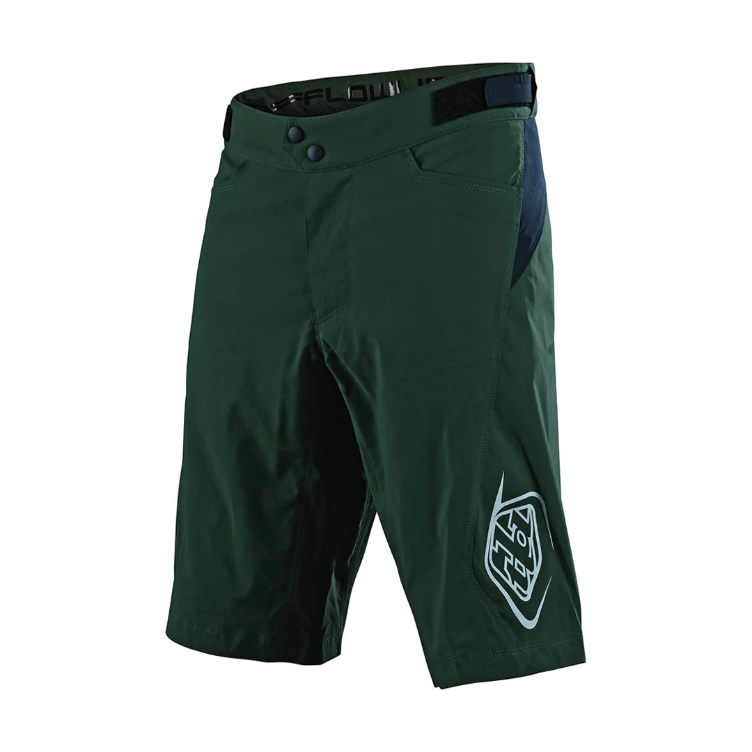 Short Troy Lee Flowline Green-1