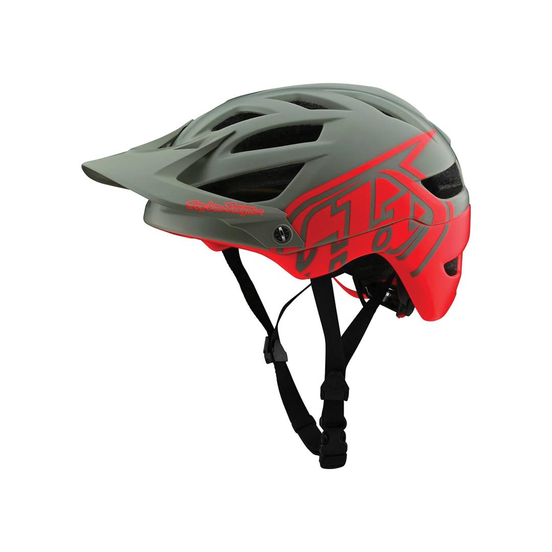 Helmet Troy Lee Junior A1 Mips Classic Orange/Gray OS-1