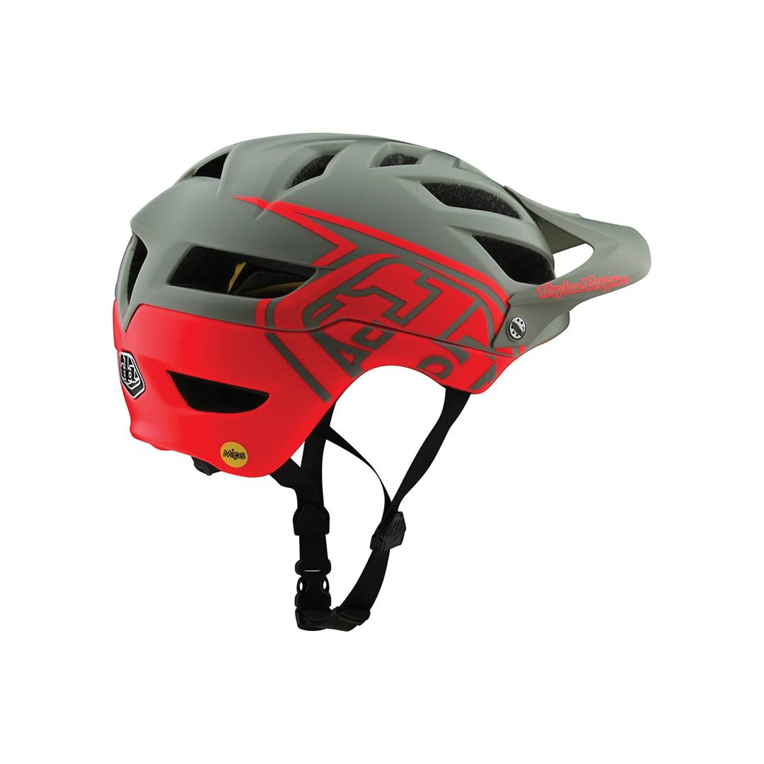 Helmet Troy Lee Junior A1 Mips Classic Orange/Gray OS-2