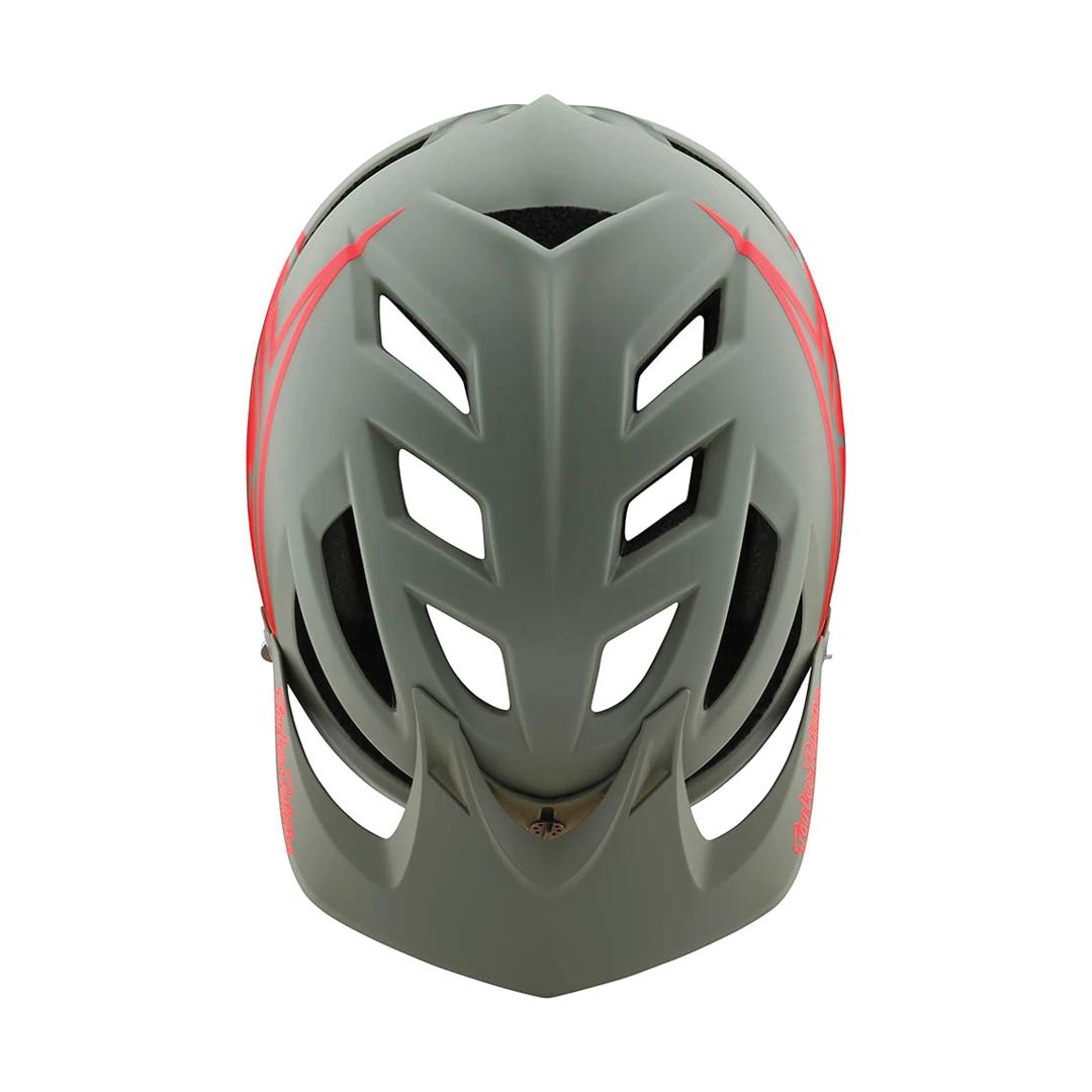 Helmet Troy Lee Junior A1 Mips Classic Orange/Gray OS-3