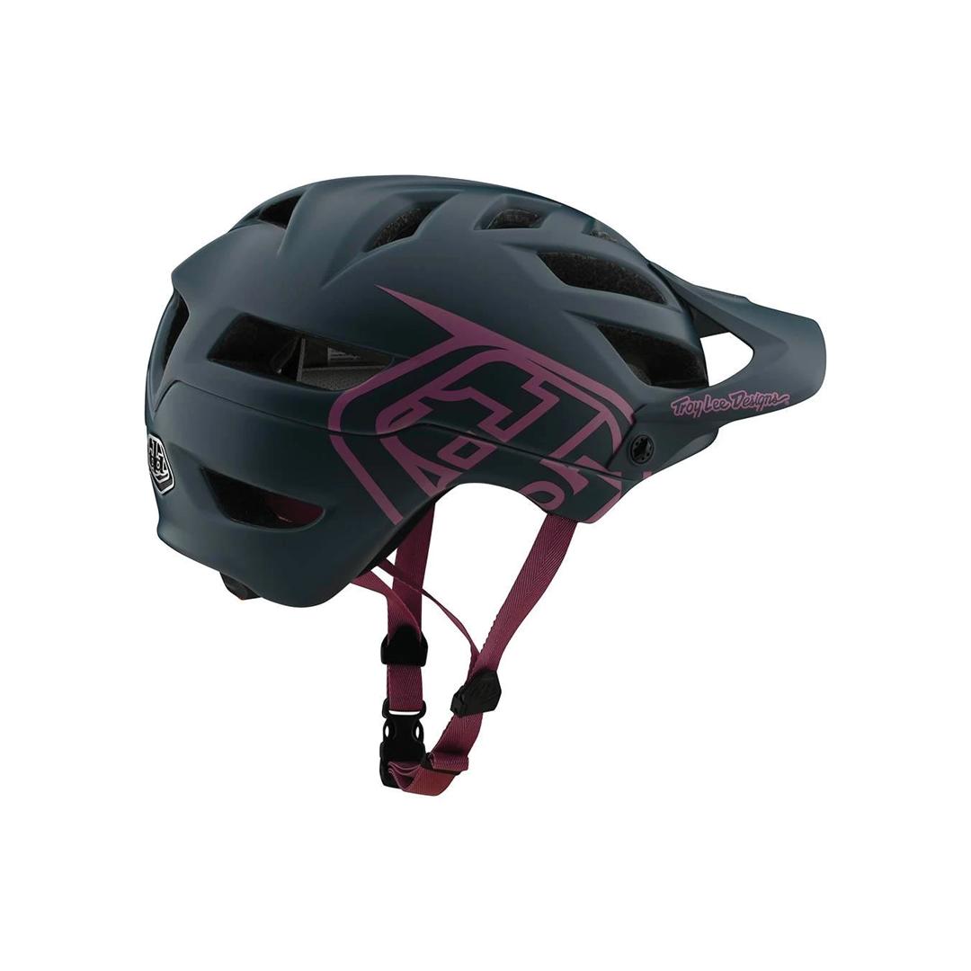 Helmet Troy Lee Femme A1 Drone Grey/Pink-2