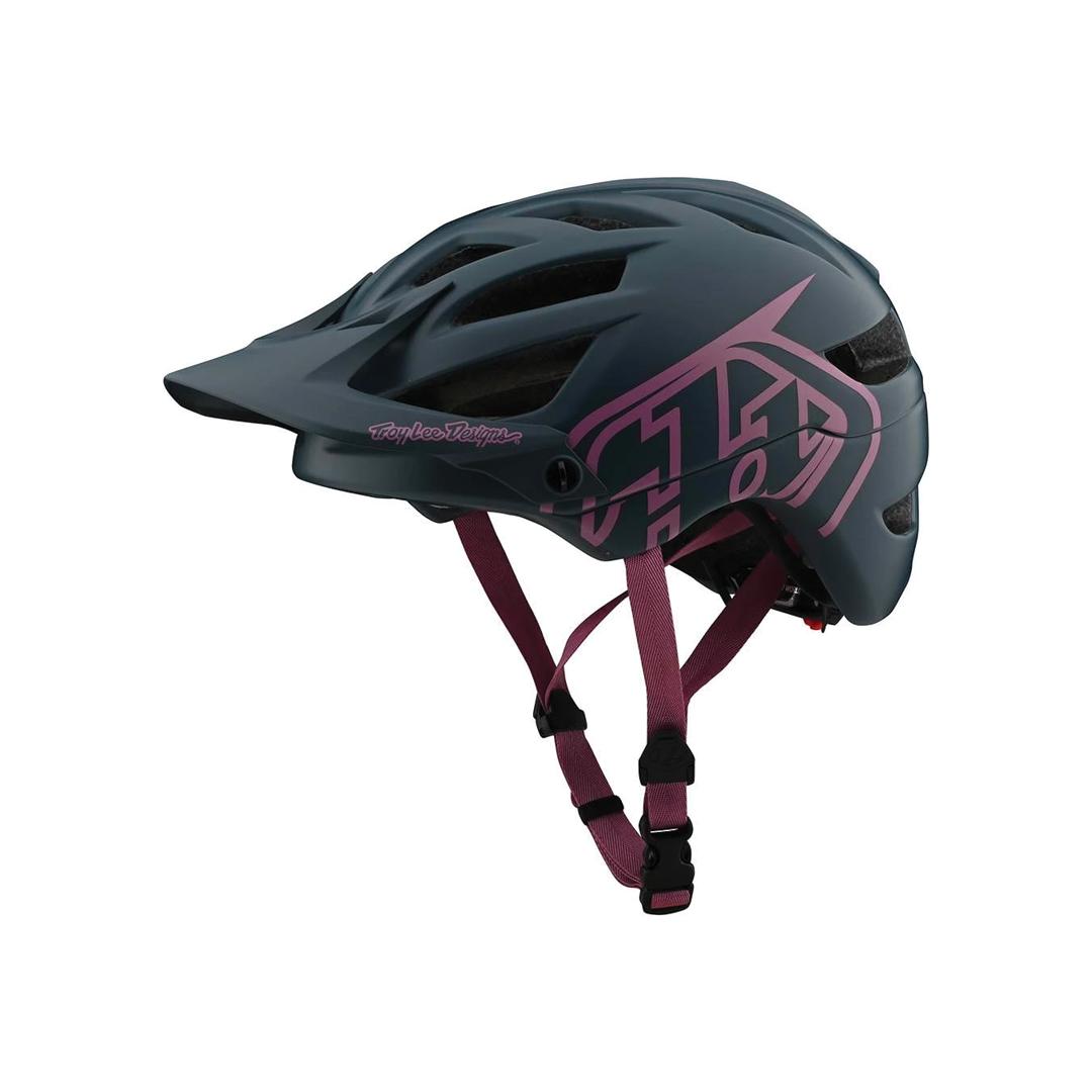 Helmet Troy Lee Femme A1 Drone Grey/Pink-1