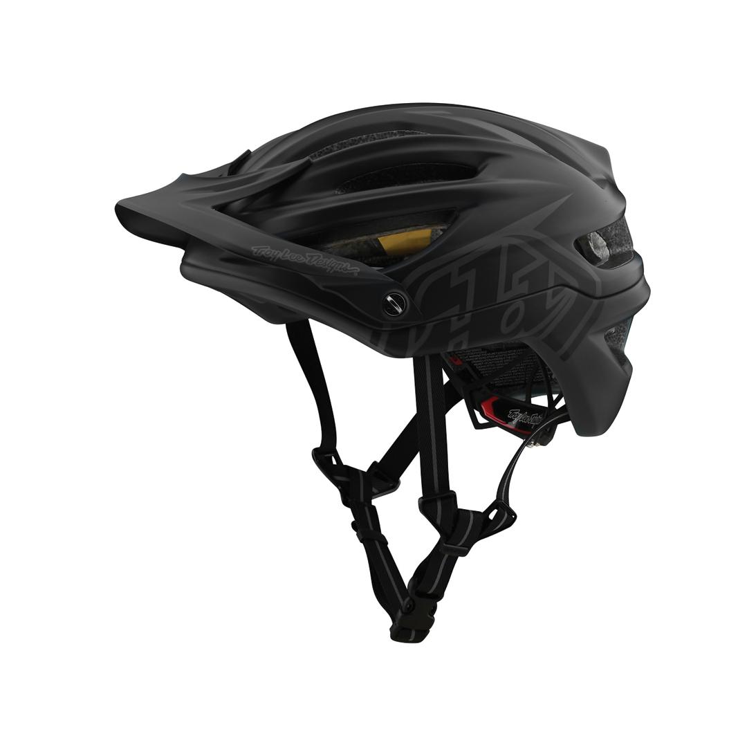 Helmet Troy Lee A2 Mips Decoy Black-1