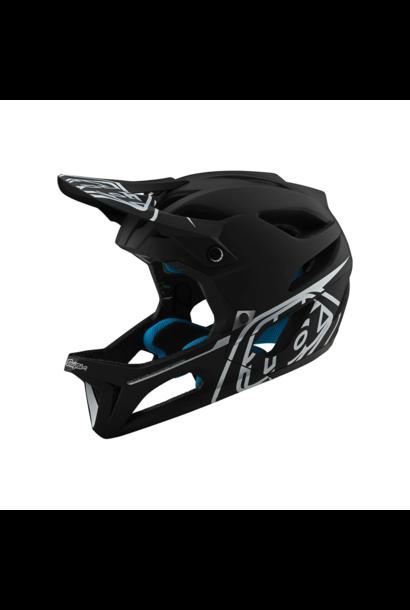 Helmet Troy Lee Stage Stealth Black/Silver